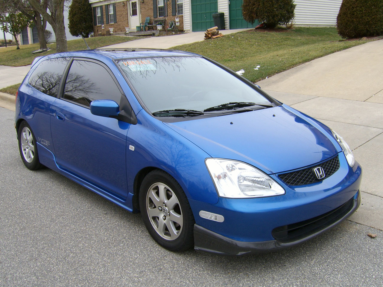 2003  Honda Civic Hatchback Si picture, mods, upgrades
