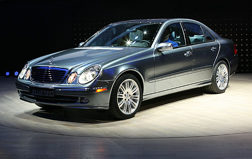 You can vote for this Mercedes-Benz E320 Bluetec to be the featured car of