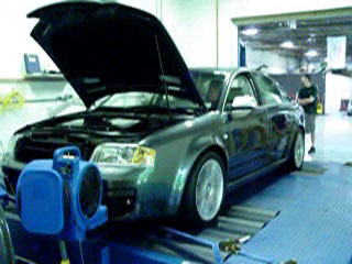 2003  Audi RS-6 GIAC picture, mods, upgrades