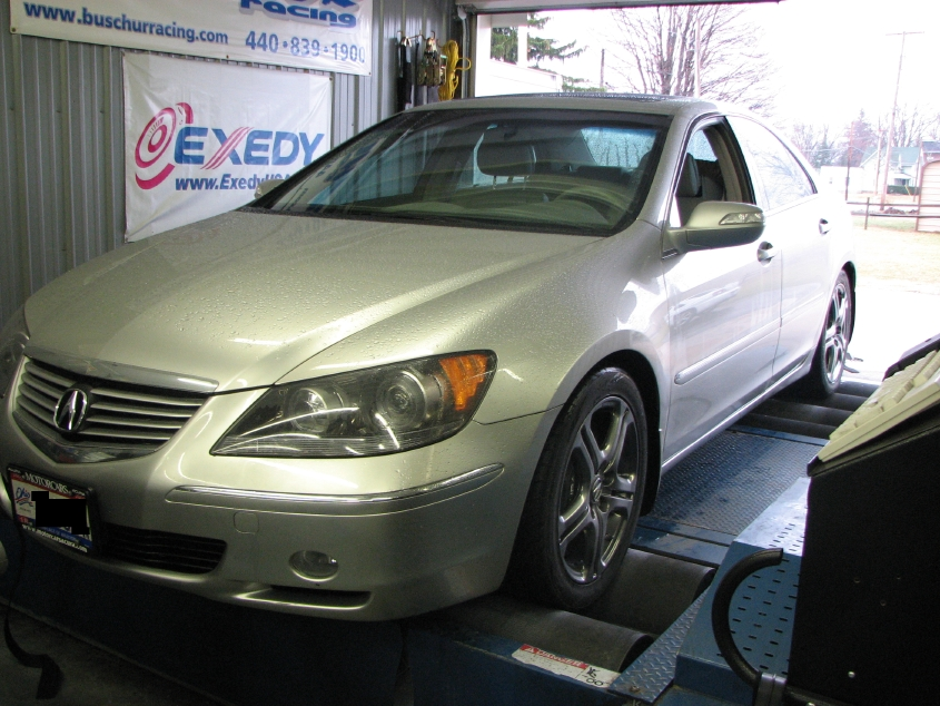 2006  Acura RL Exhaust & Intake picture, mods, upgrades