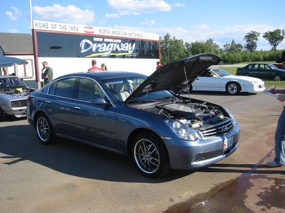 2005 Infiniti G35 Awd Hks Supercharger