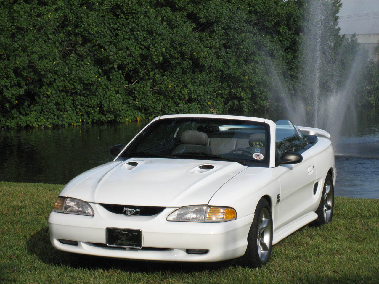 1994 Ford Mustang gt convertible ATI Supercharger