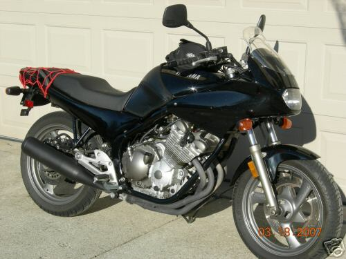 1992  Yamaha XJ 600 Seca II picture, mods, upgrades