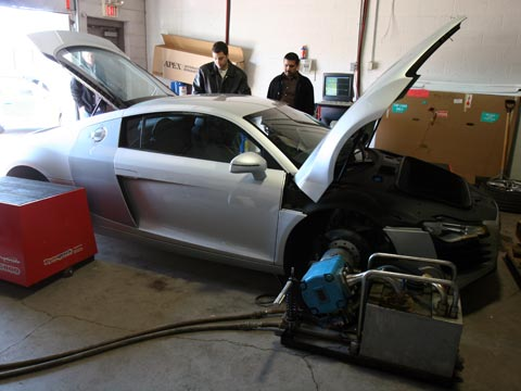 2008  Audi R8  picture, mods, upgrades