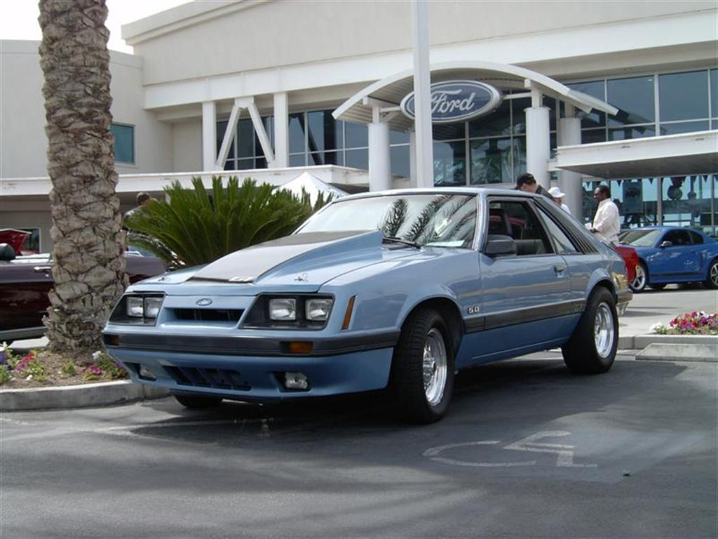 1986 ford mustang gt picture mods upgrades