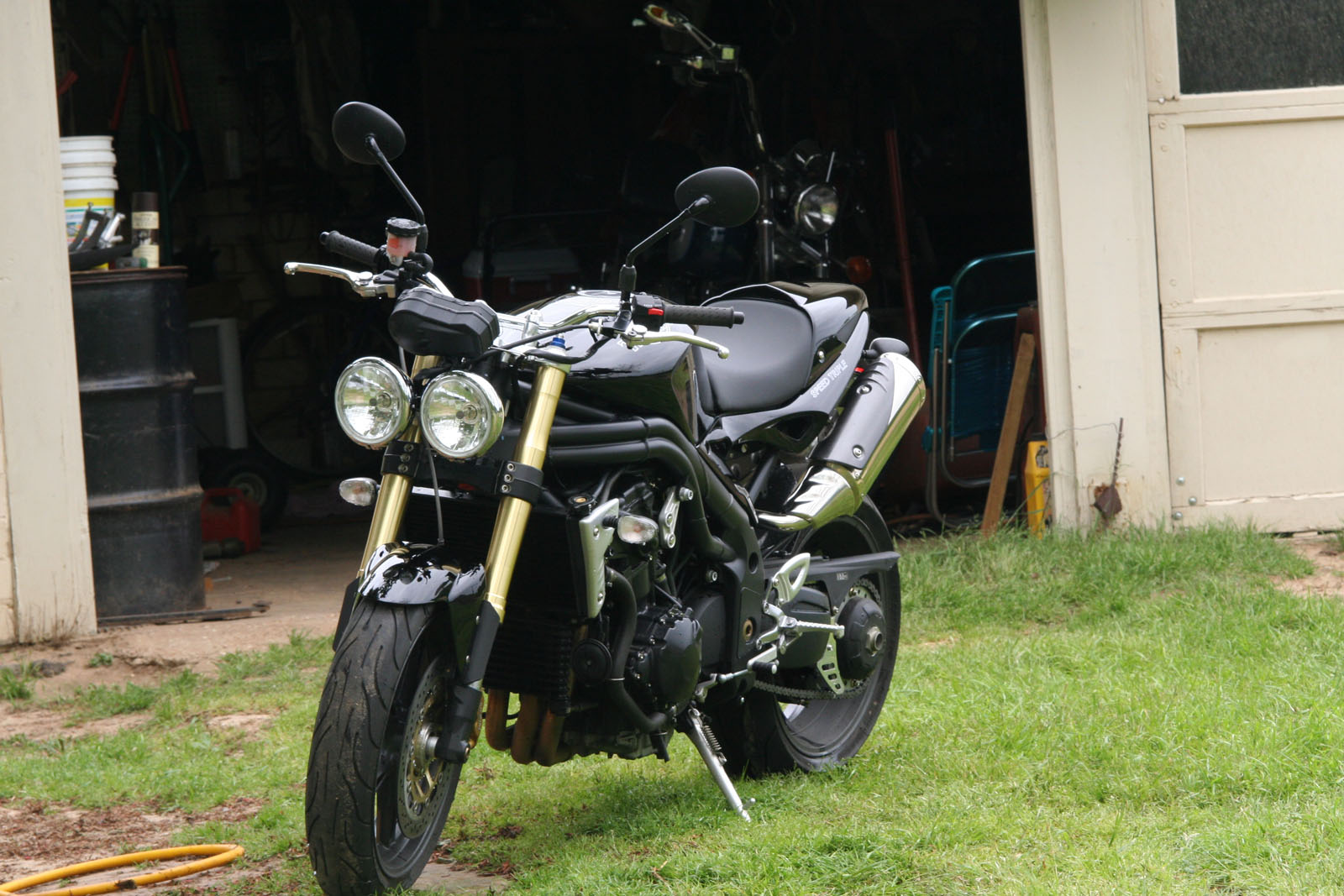 2006  Triumph Speed Triple picture, mods, upgrades