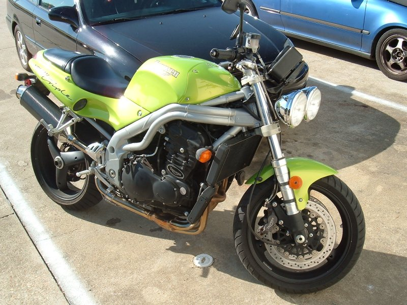 1999  Triumph Speed Triple picture, mods, upgrades