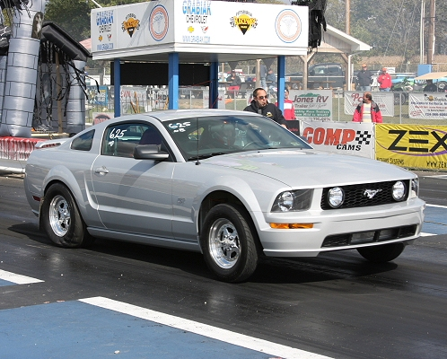 2005 Mustang Gt 0 60 >> 2005 Ford Mustang GT PowerHouse Turbo 1/4 mile Drag Racing