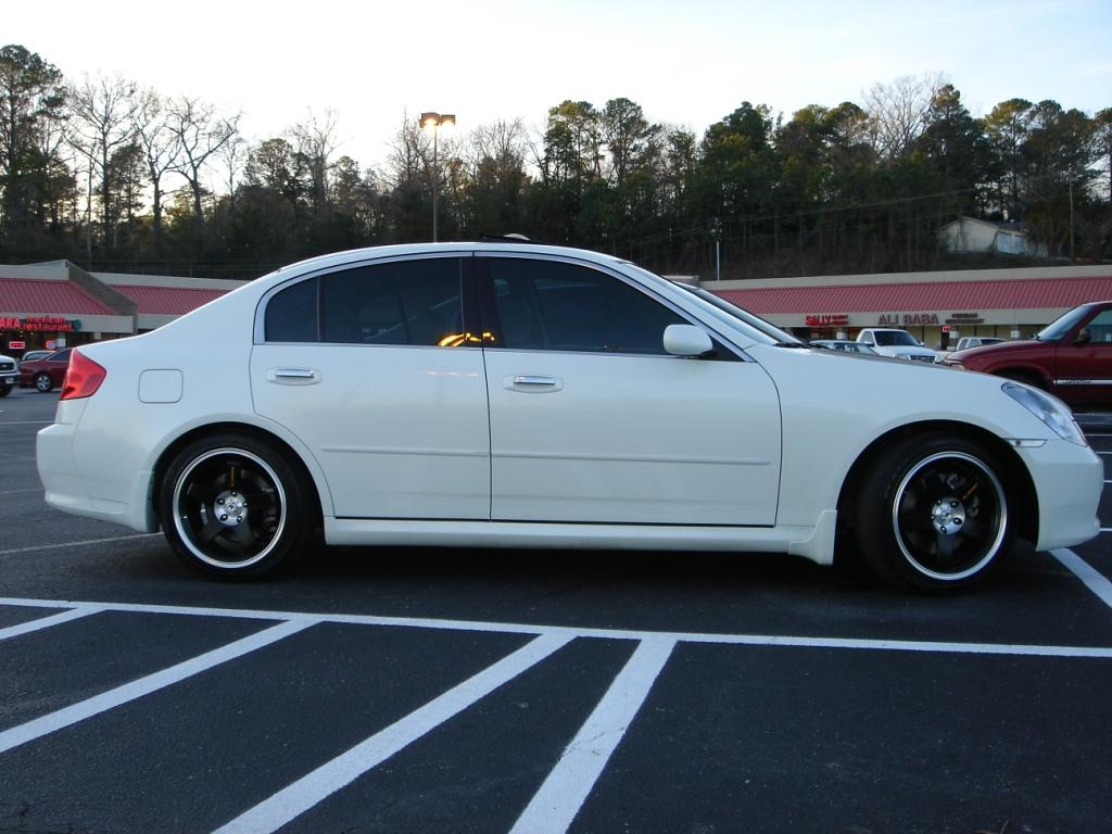2005 infiniti g35 sedan 6mt 1 4 mile drag racing timeslip. Black Bedroom Furniture Sets. Home Design Ideas