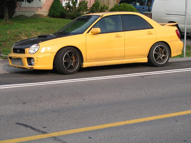 2003  Subaru Impreza wrx R1 picture, mods, upgrades