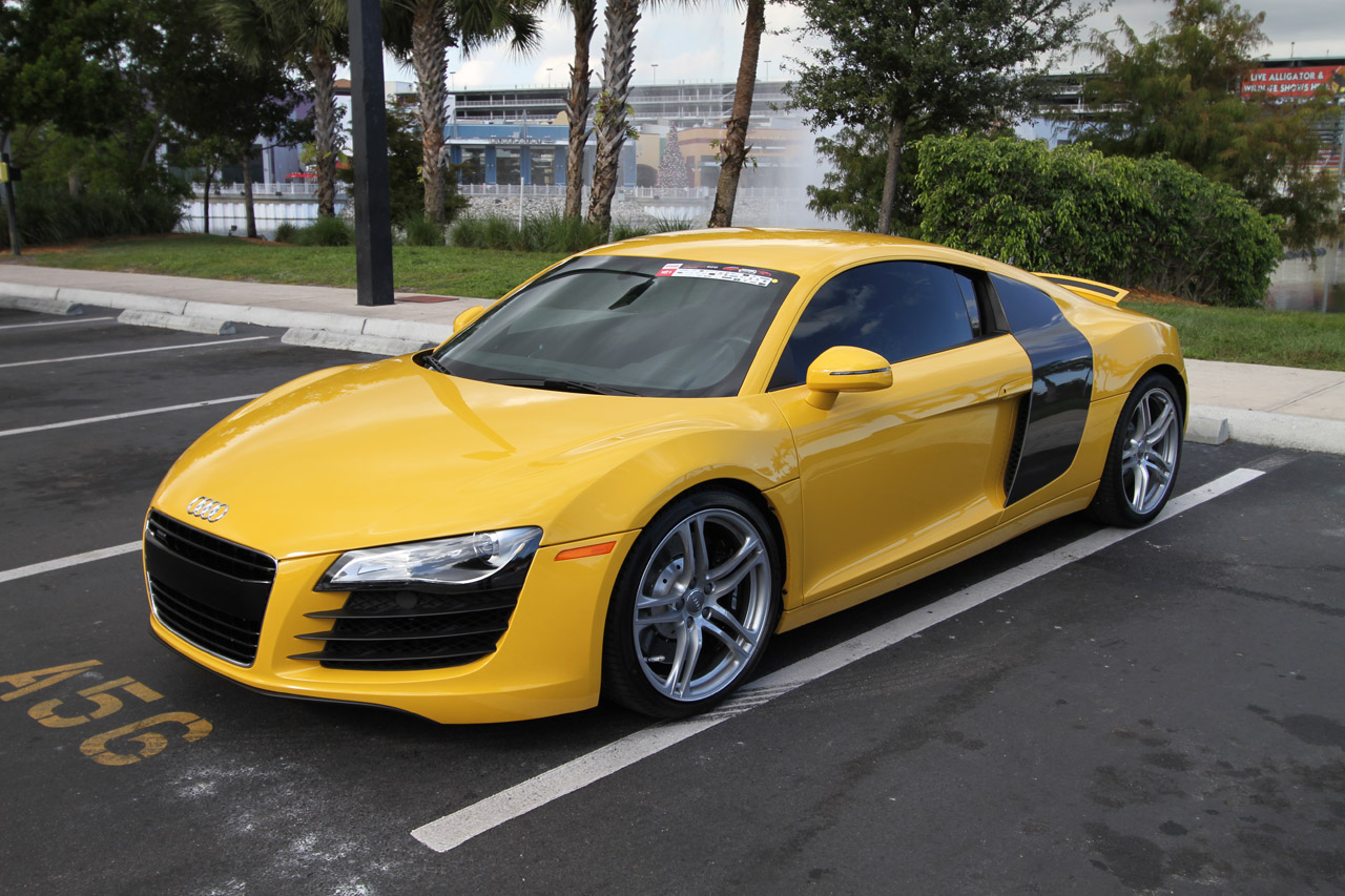 Stock 2008 Audi R8 1/4 mile Drag Racing timeslip specs 0-60 ...