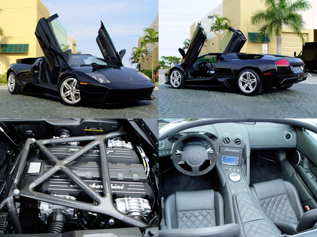 Murcielago LP640 Roadster 1/4 mile Drag Racing trap speed 0-60