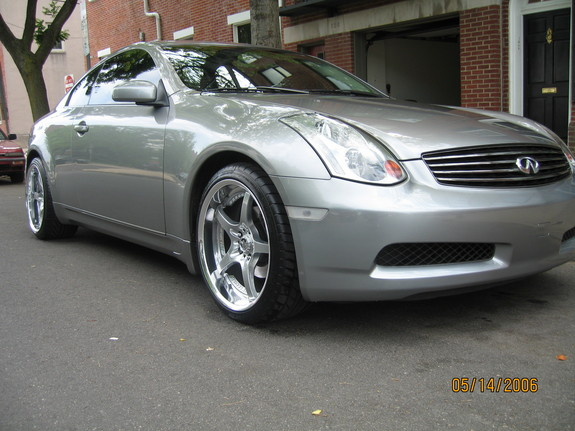 2003 Infiniti G35 Coupe 5AT