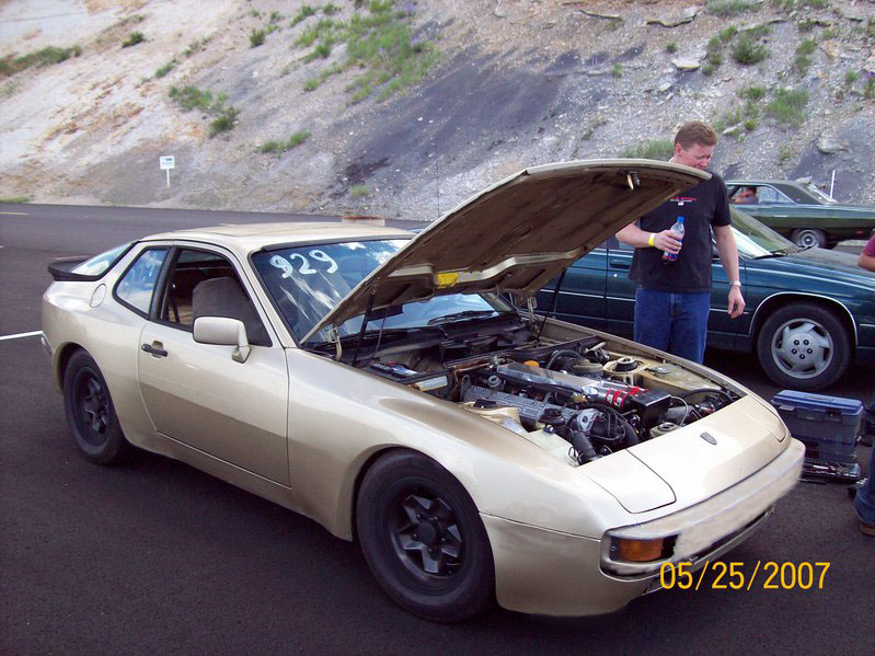 1983 Porsche 944 supercharged 1/4 mile Drag Racing timeslip specs 0 ...