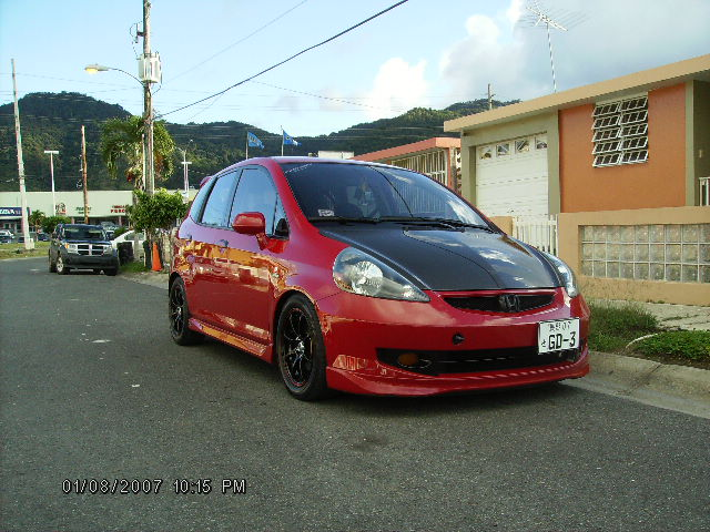 2007  Honda FIT sport picture, mods, upgrades