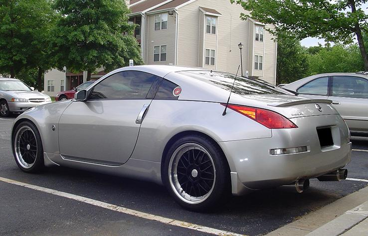 2003  Nissan 350Z Nitrous Express picture, mods, upgrades