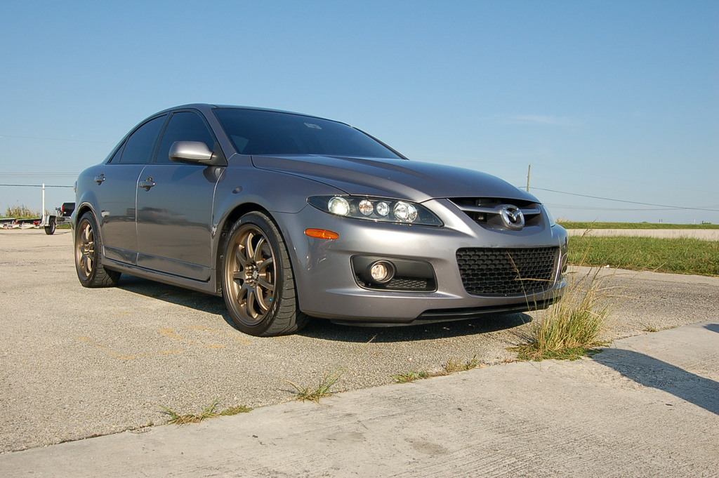 2006 Mazda 6 mazdaspeed6 1/4 mile Drag Racing timeslip specs 0-60 ...