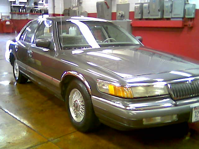 1992  Mercury Grand Marquis handling + performance pkg. picture, mods, upgrades