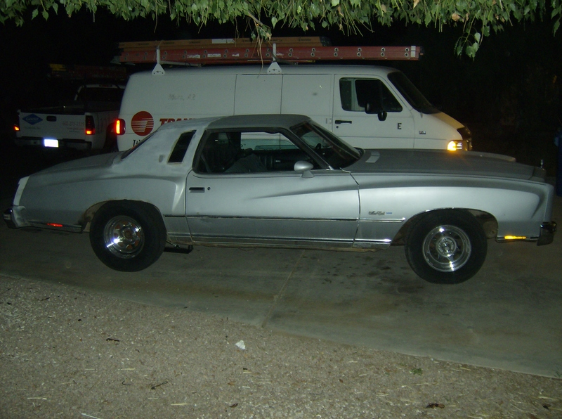 1977  Chevrolet Monte Carlo Landau picture, mods, upgrades