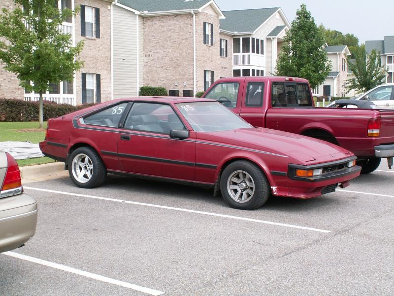1985  Toyota Supra L-type picture, mods, upgrades