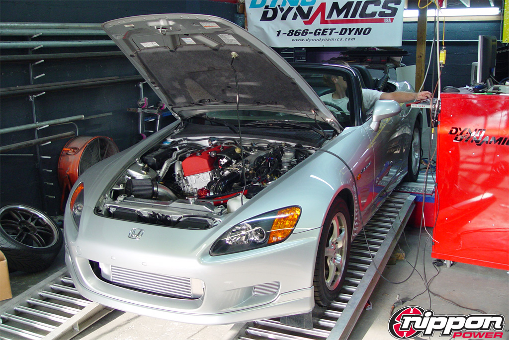 2002 Honda S2000 Nippon Power Full Race Turbo Kit