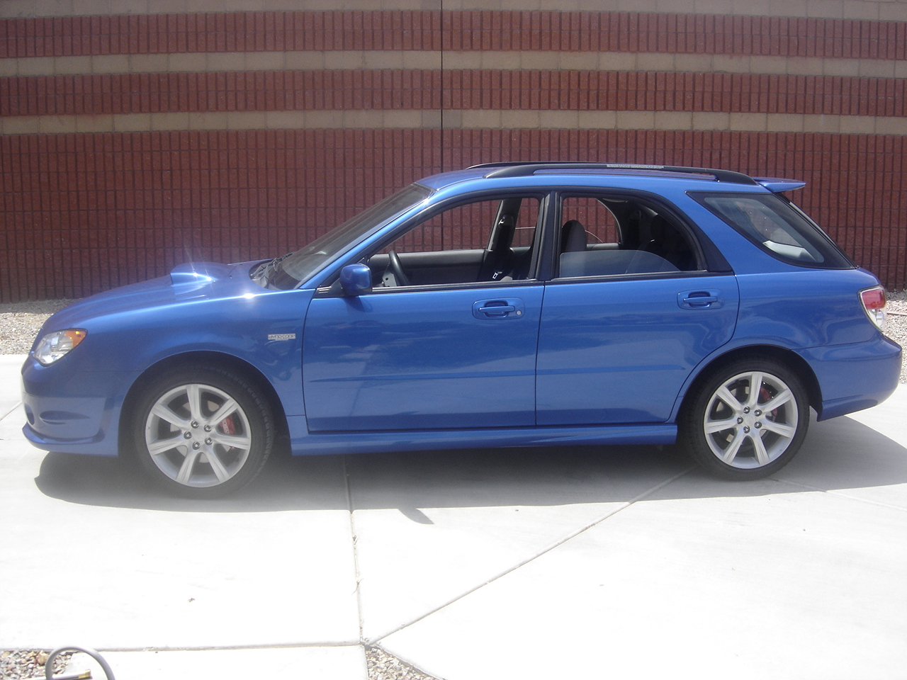 2007  Subaru Impreza wrx wagon picture, mods, upgrades