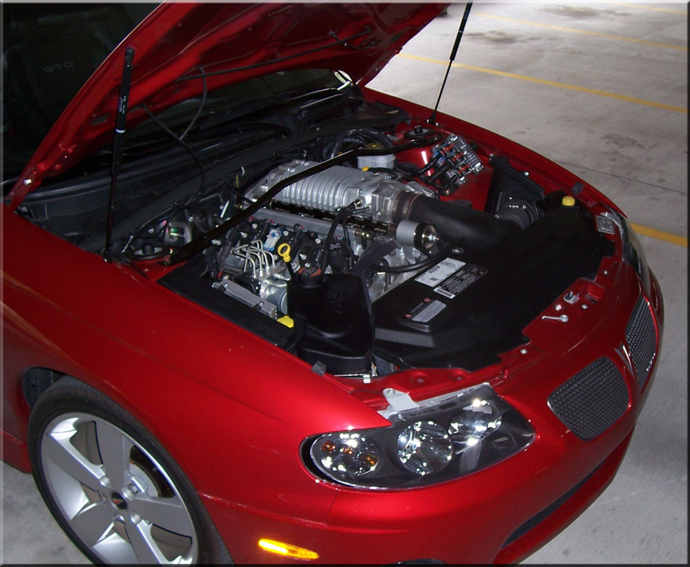 2006  Pontiac GTO A4 Magnuson Supercharger picture, mods, upgrades