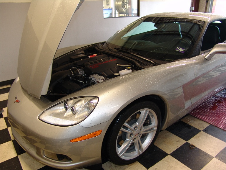 2008 Chevrolet Corvette LS3 Manual Dyno