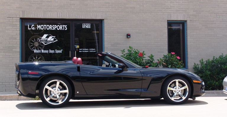 2008  Chevrolet Corvette LS3 NPP Convertible picture, mods, upgrades