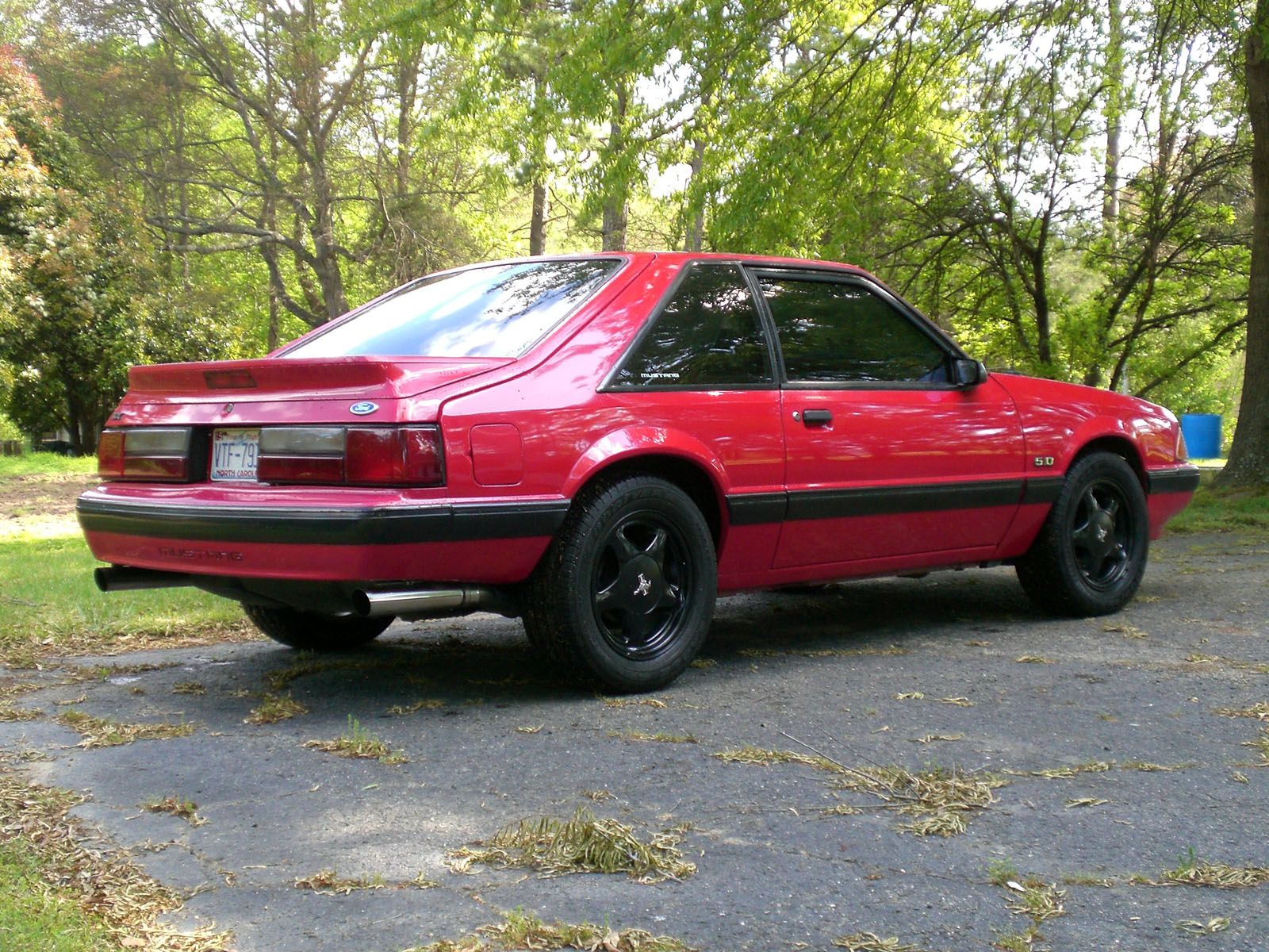 1991  Ford Mustang lx picture, mods, upgrades