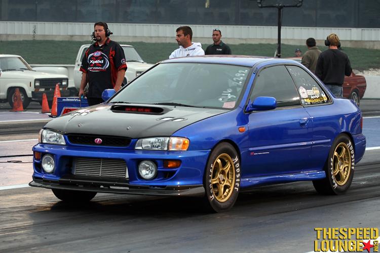 Subaru Impreza 2.5 Rs >> 1999 Subaru Impreza 2 5 Rs 1 4 Mile Trap Speeds 0 60
