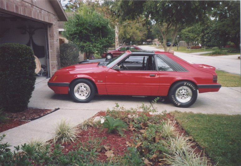 1985 Ford Mustang GT  coupe