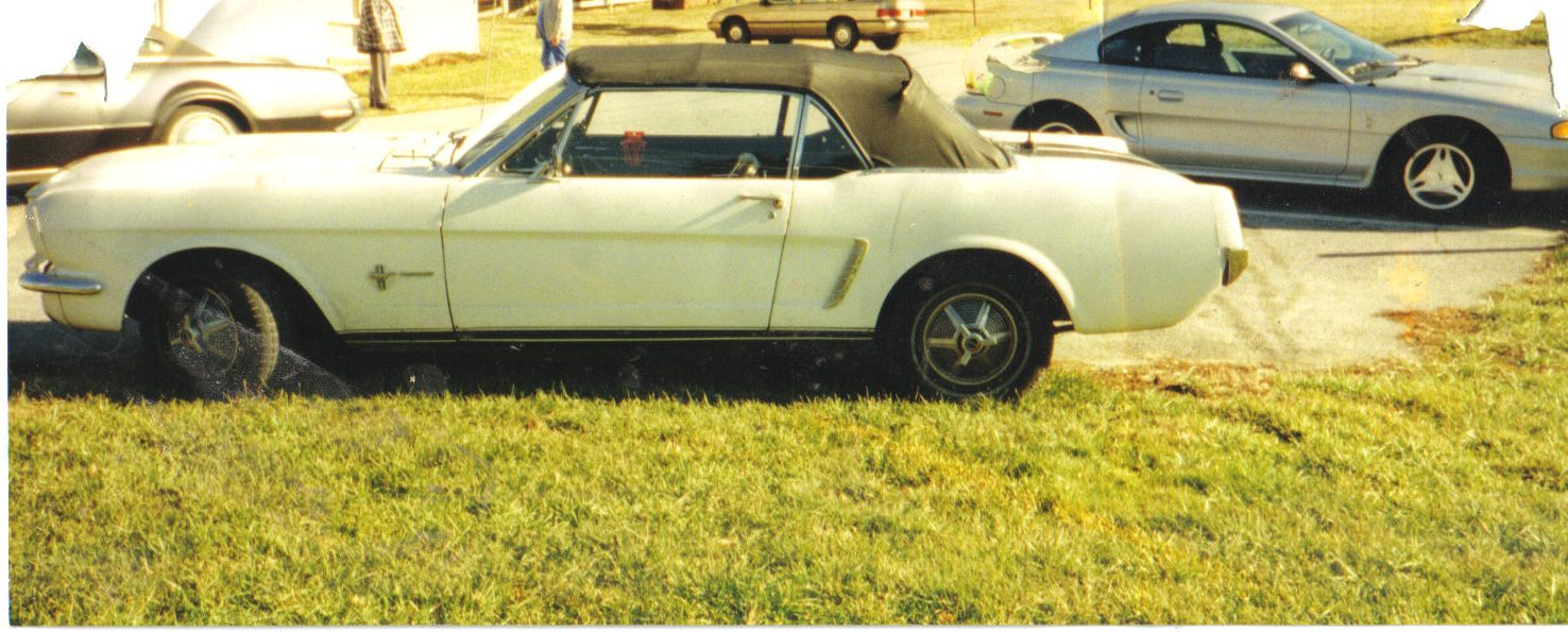 1965  Ford Mustang pony picture, mods, upgrades