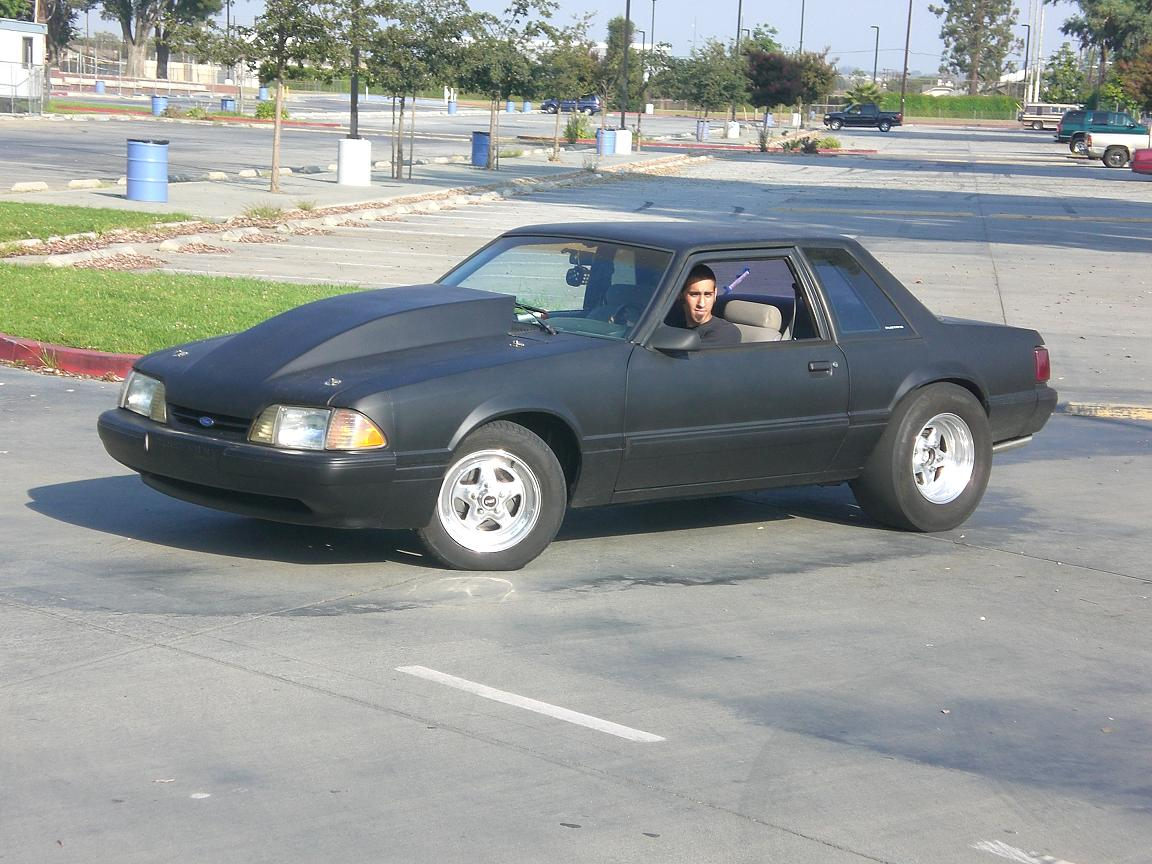 1982 Ford Mustang LX Nitrous