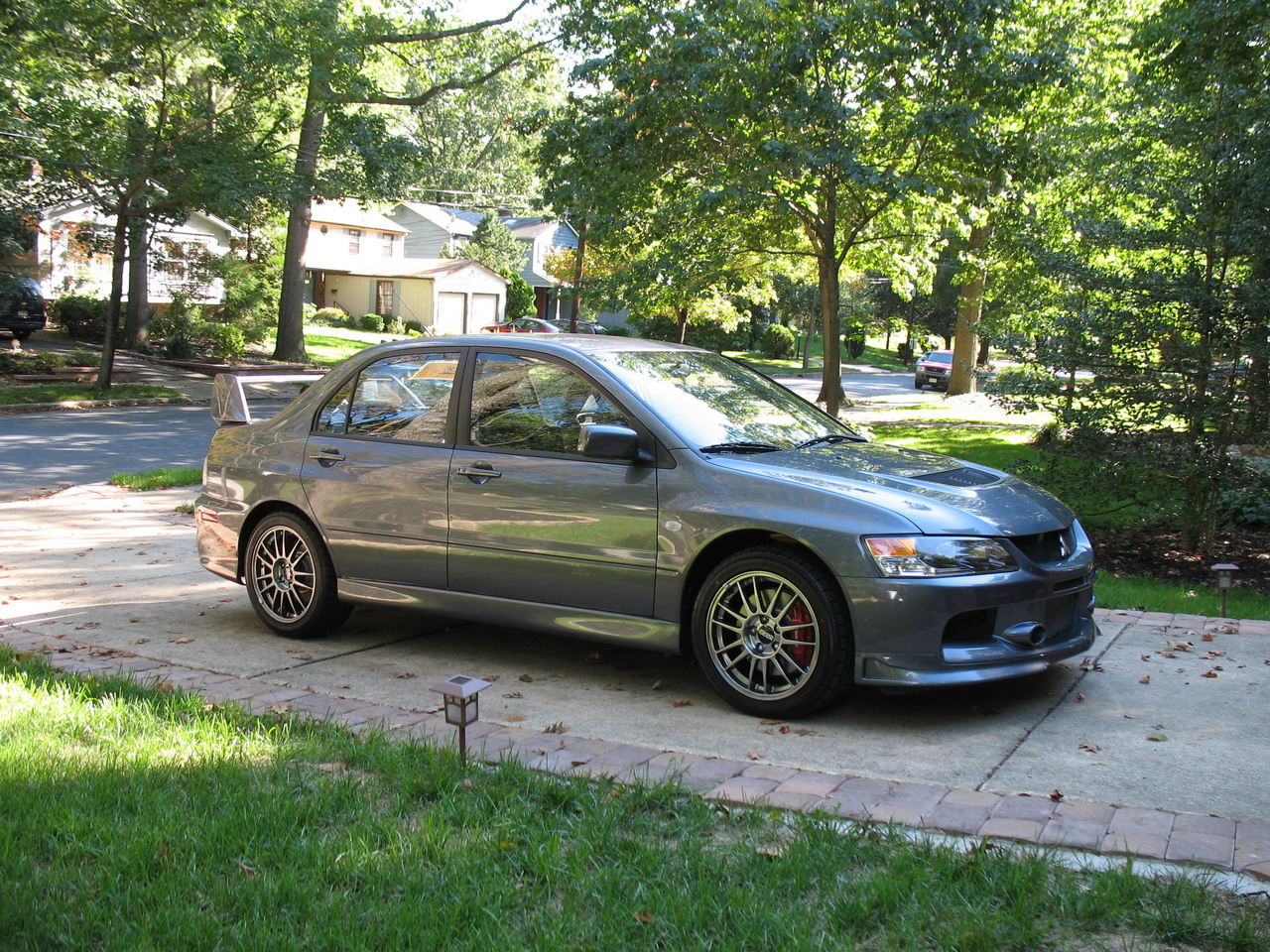 stock 2006 mitsubishi lancer evo mr 1/4 mile trap speeds 0-60