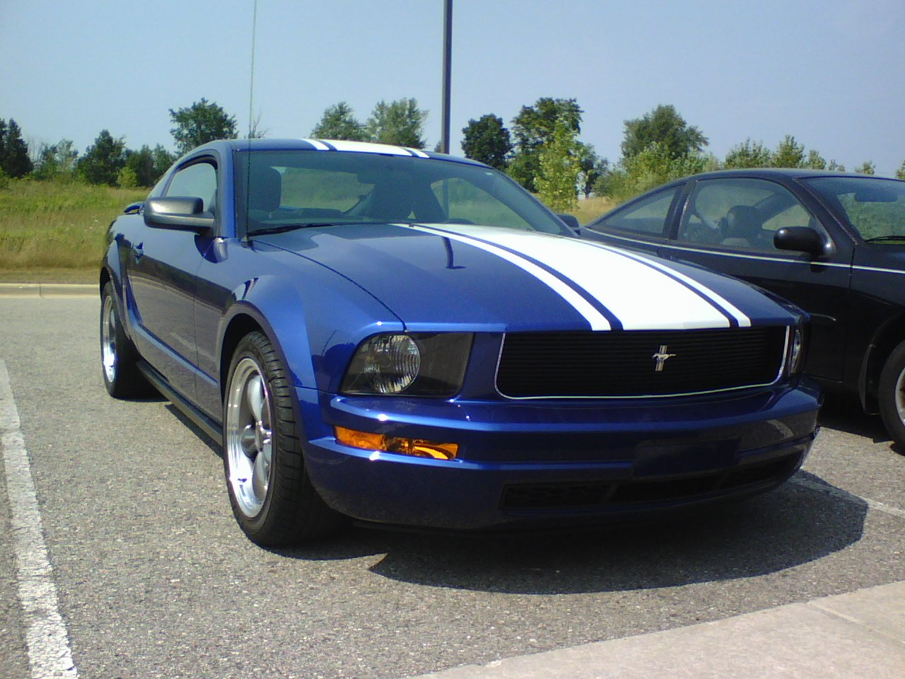 2005 ford mustang v6 picture mods upgrades