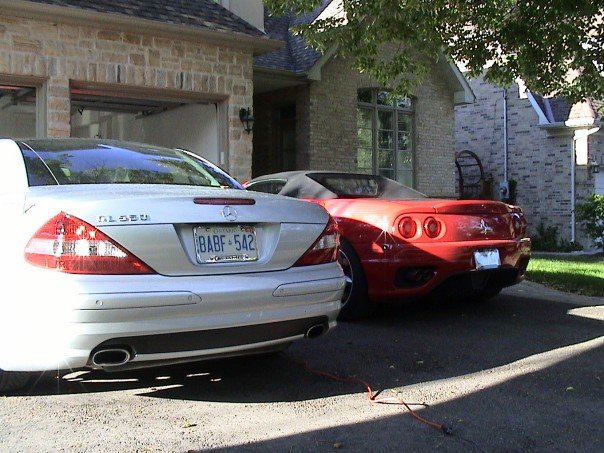2007  Mercedes-Benz SL550  picture, mods, upgrades