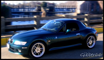 1998 Boston Green BMW Z3 2.8 Roadster picture, mods, upgrades