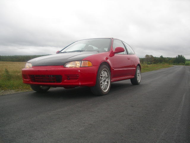 1995  Honda Civic CX picture, mods, upgrades
