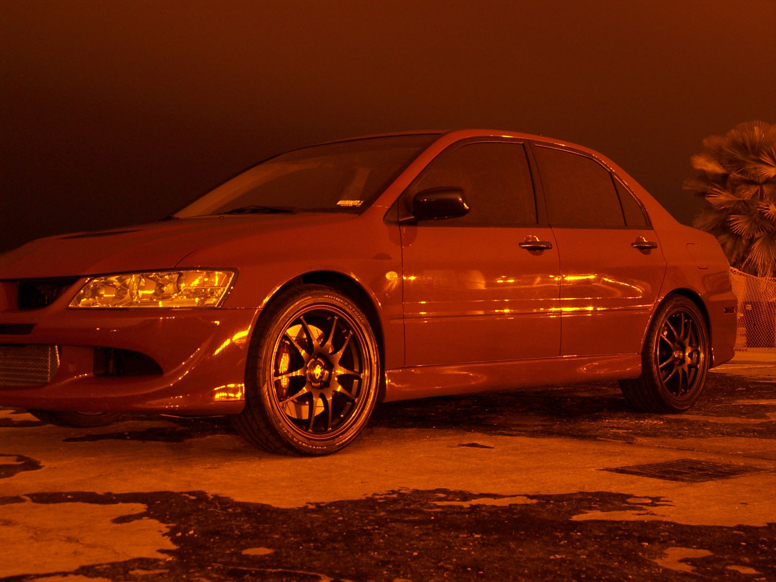 2005  Mitsubishi Lancer EVO RS picture, mods, upgrades