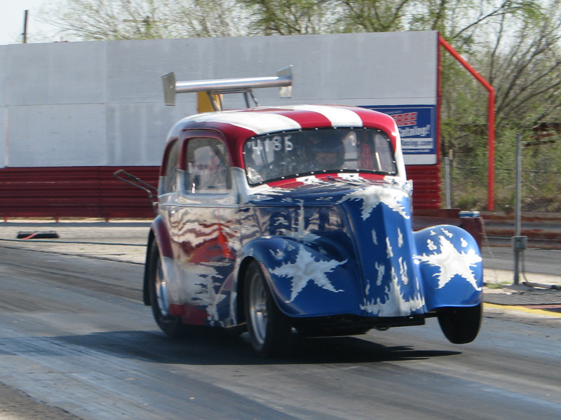 Ford Anglia Drag Car