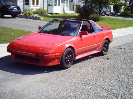 1989  Toyota MR2 supercharged picture, mods, upgrades