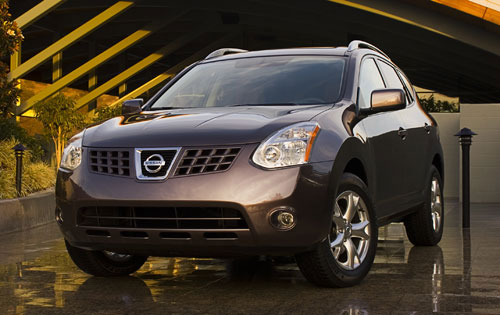 2008  Nissan Rogue SL AWD picture, mods, upgrades