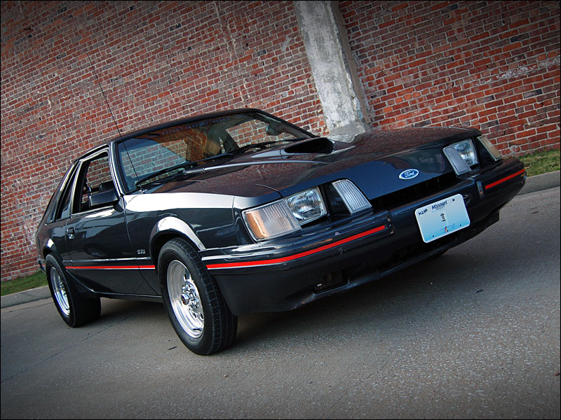 1984  Ford Mustang SVO picture, mods, upgrades