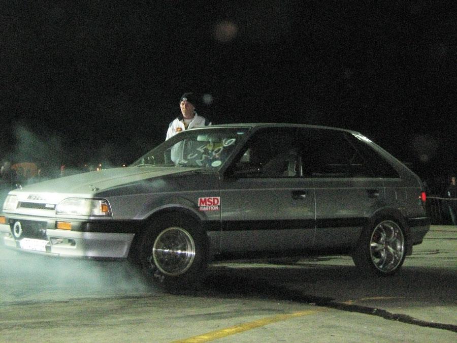1990 Mazda 323 egi 1/4 mile Drag Racing timeslip specs 0-60 ...