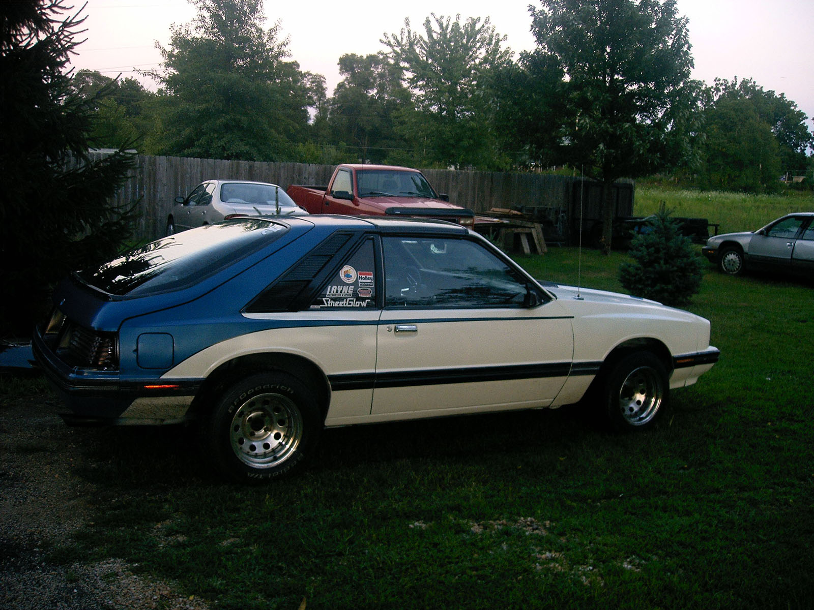 1983  Mercury Capri  picture, mods, upgrades