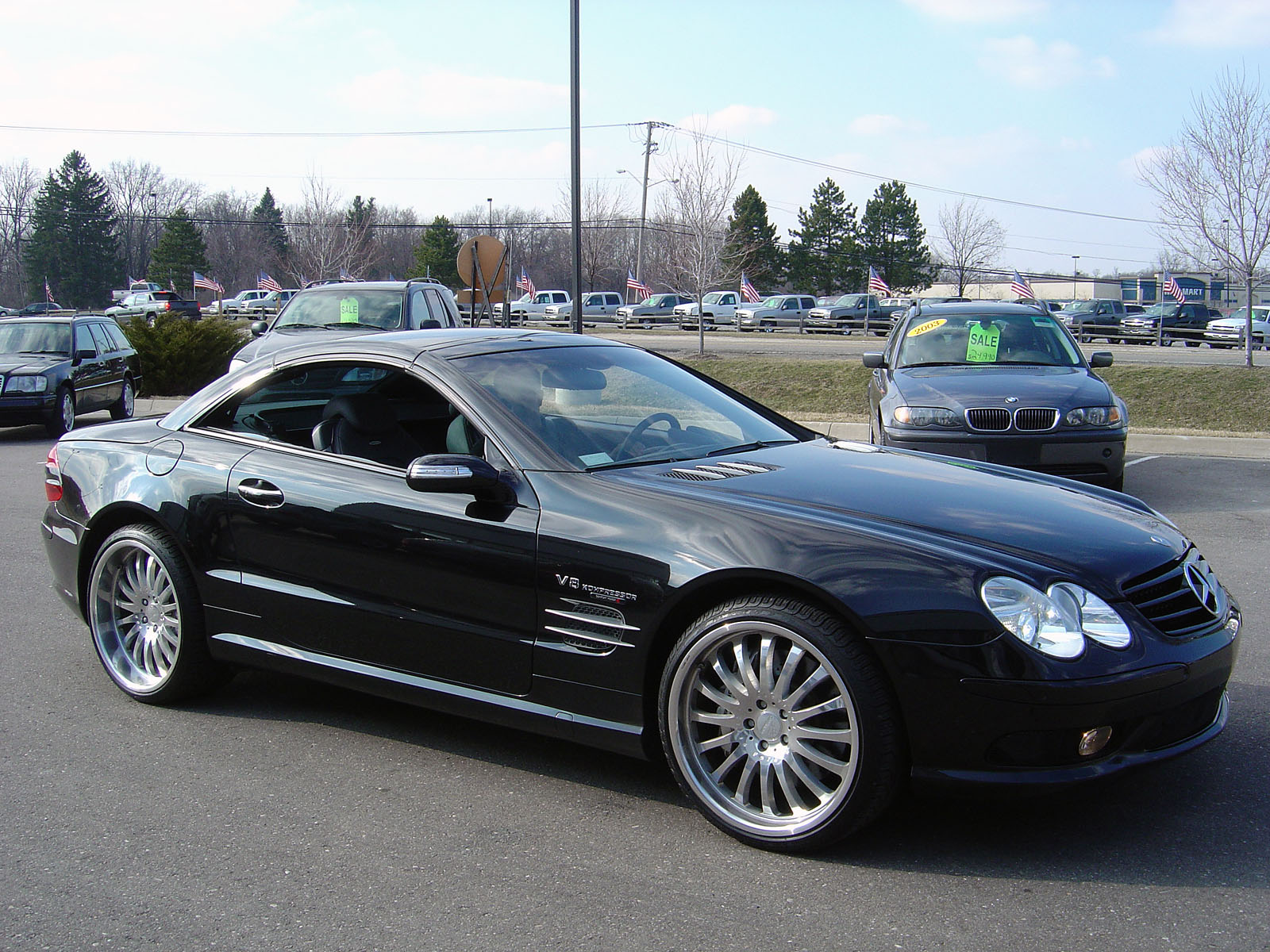 2004 mercedes benz sl55 amg 1 4 mile trap speeds 0 60