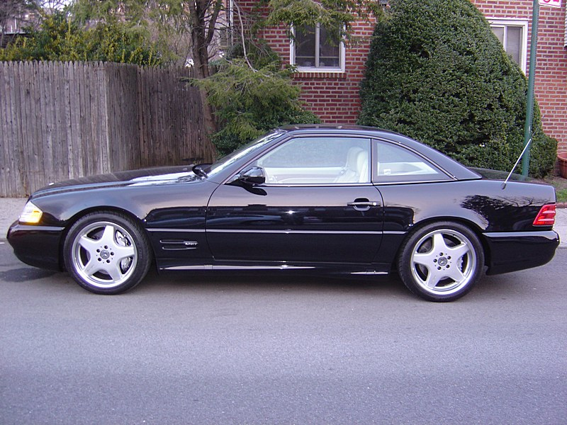 1999 Mercedes-Benz SL500  Supercharged