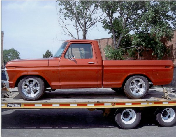 1974 Ford F100 429 big block ford
