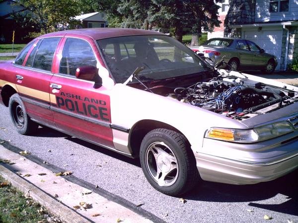 1995 Ford Crown Victoria P71 14 mile Drag Racing timeslip specs 0